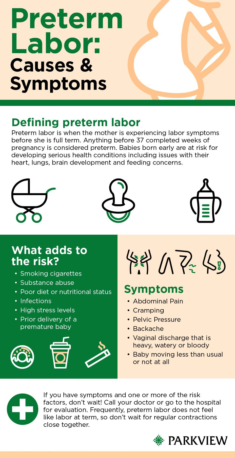 Important prevention signs and symptoms for pregnant mothers