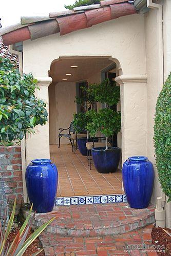 Spanish Mission Walkway Willow Glen Spanish Style Home