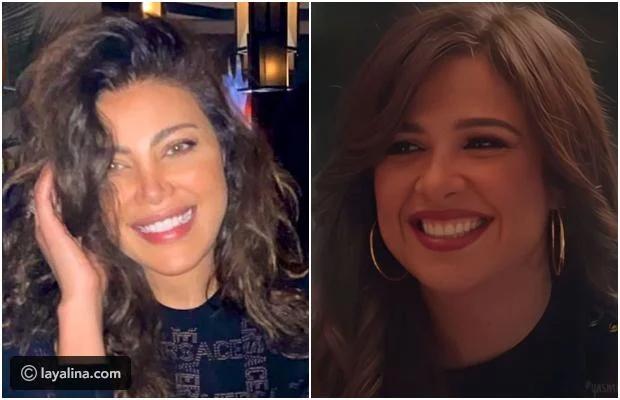 ياسمين عبد العزيز متهمة بتقليد ريهام حجاج ليالينا