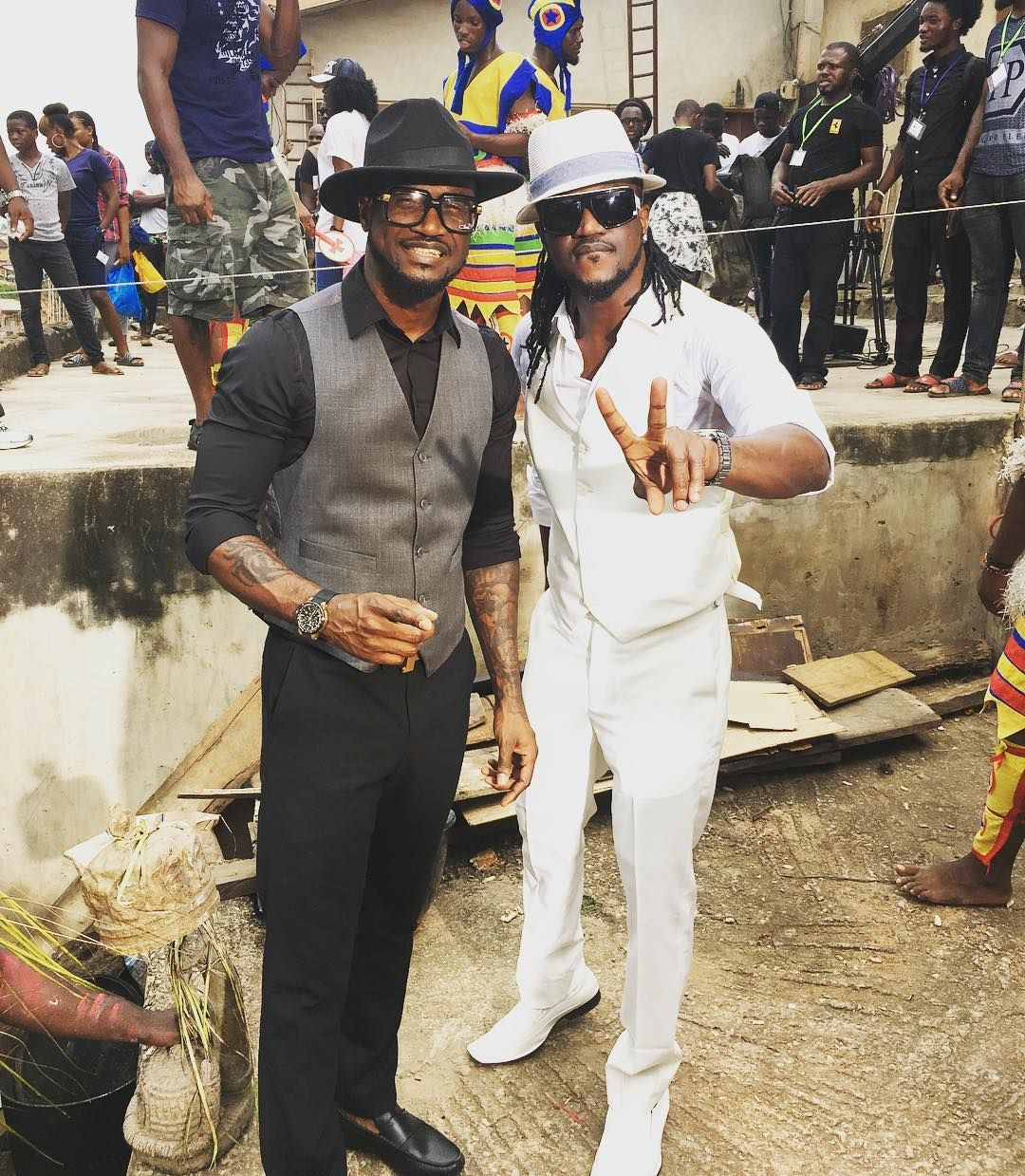 PSquare: Brothers Love As They Both Want To Release New Video