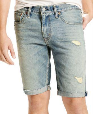 1b28801f LEVI'S Levi's® Men's 511 Slim-Fit Beverly Glen Cutoff Ripped Jean Shorts . # levis #cloth # shorts