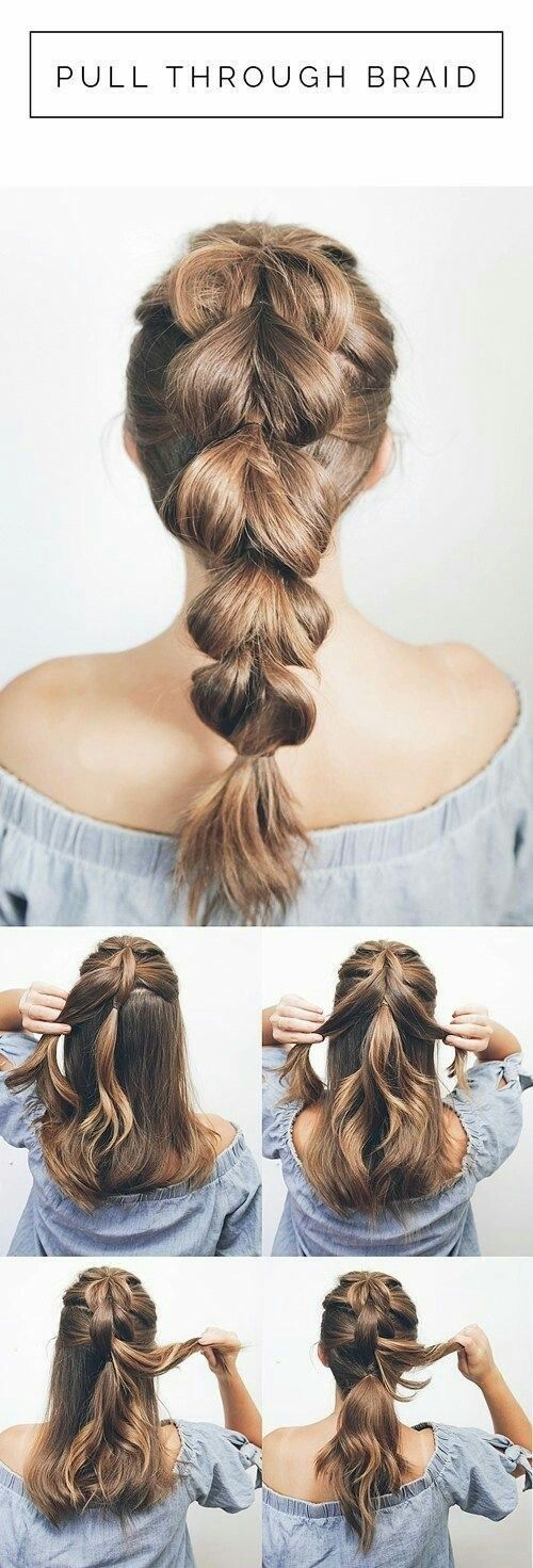 12 Fun And Easy Hair Styles For Your Daily Routine Splash Colours Colours Daily Easy Fun Simple Prom Hair Short Hair Tutorial Thick Hair Styles Medium