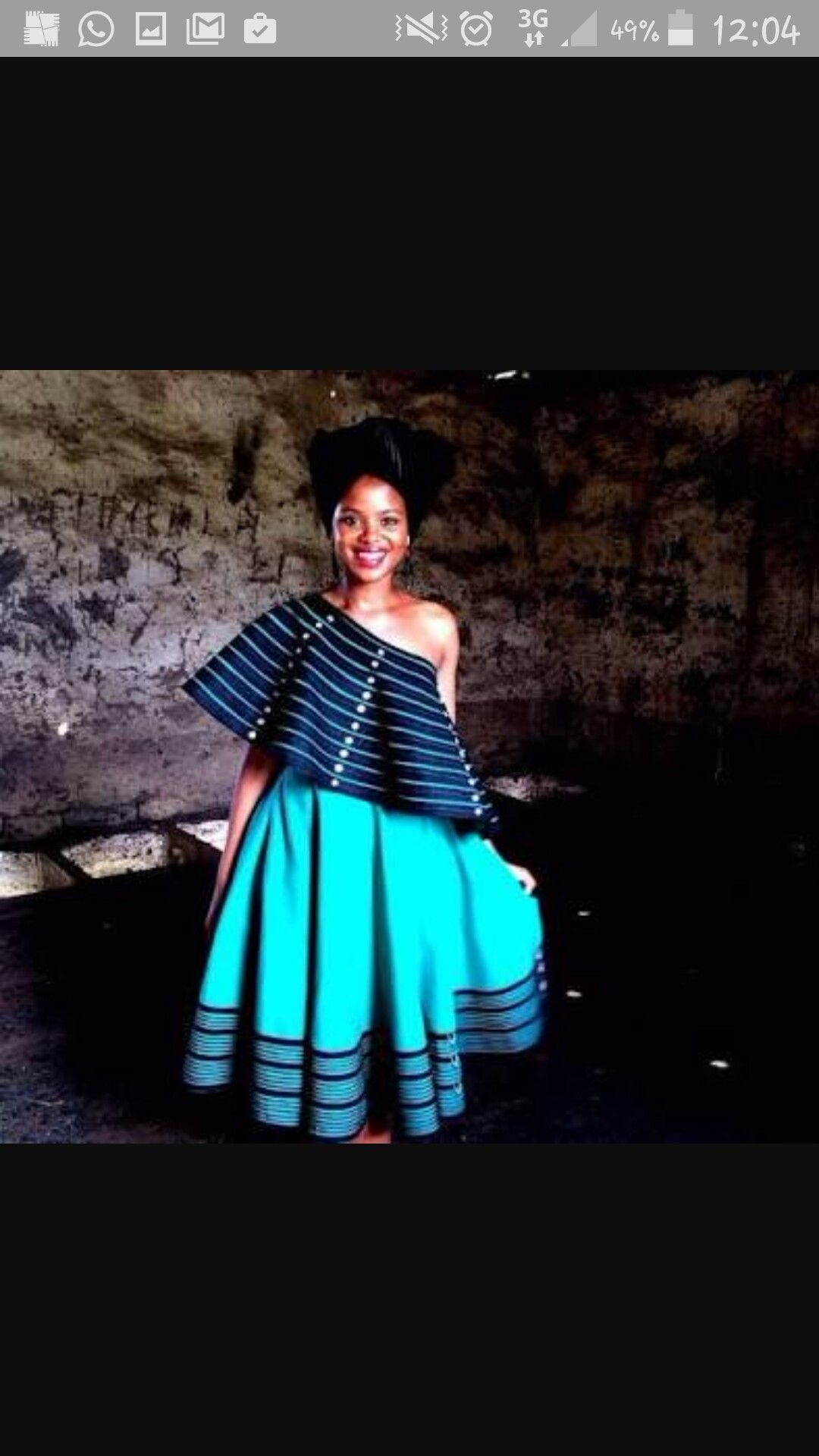 Xhosa Bride With Images South African Traditional