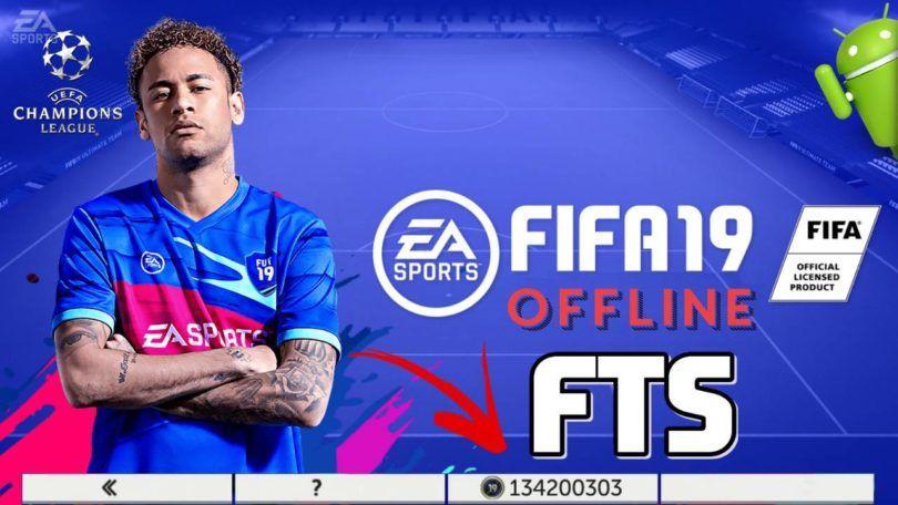 Fifa19 Offline Mod Fts Apk Data Download Jogos De Futebol Jogos Futebol