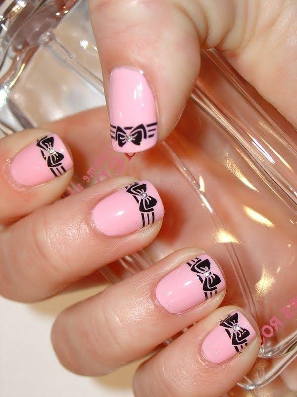 55 Bow Nail Art Ideas