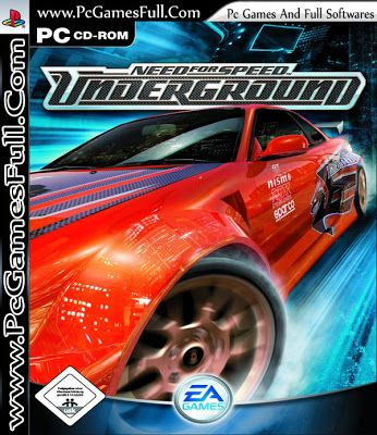 Need For Speed Underground 1 Free Download Pc Game Full Version Top Pc Games And Full Softwares Free Download Need For Speed Games Speed Games Need For Speed