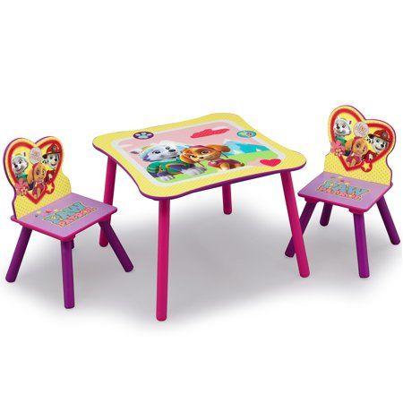 Sensational Nick Jr Paw Patrol Skye And Everest Kids Table And Frankydiablos Diy Chair Ideas Frankydiabloscom