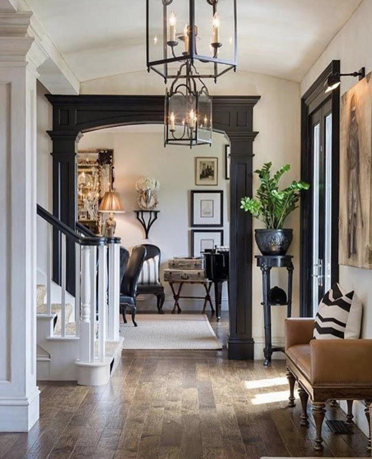Fabulous New England Style Foyers