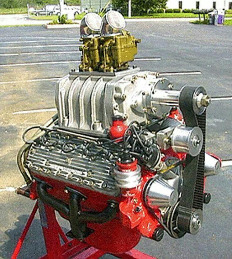 Blown Flattie | Engines, V8, flathead,OHC,DOHC | Motor