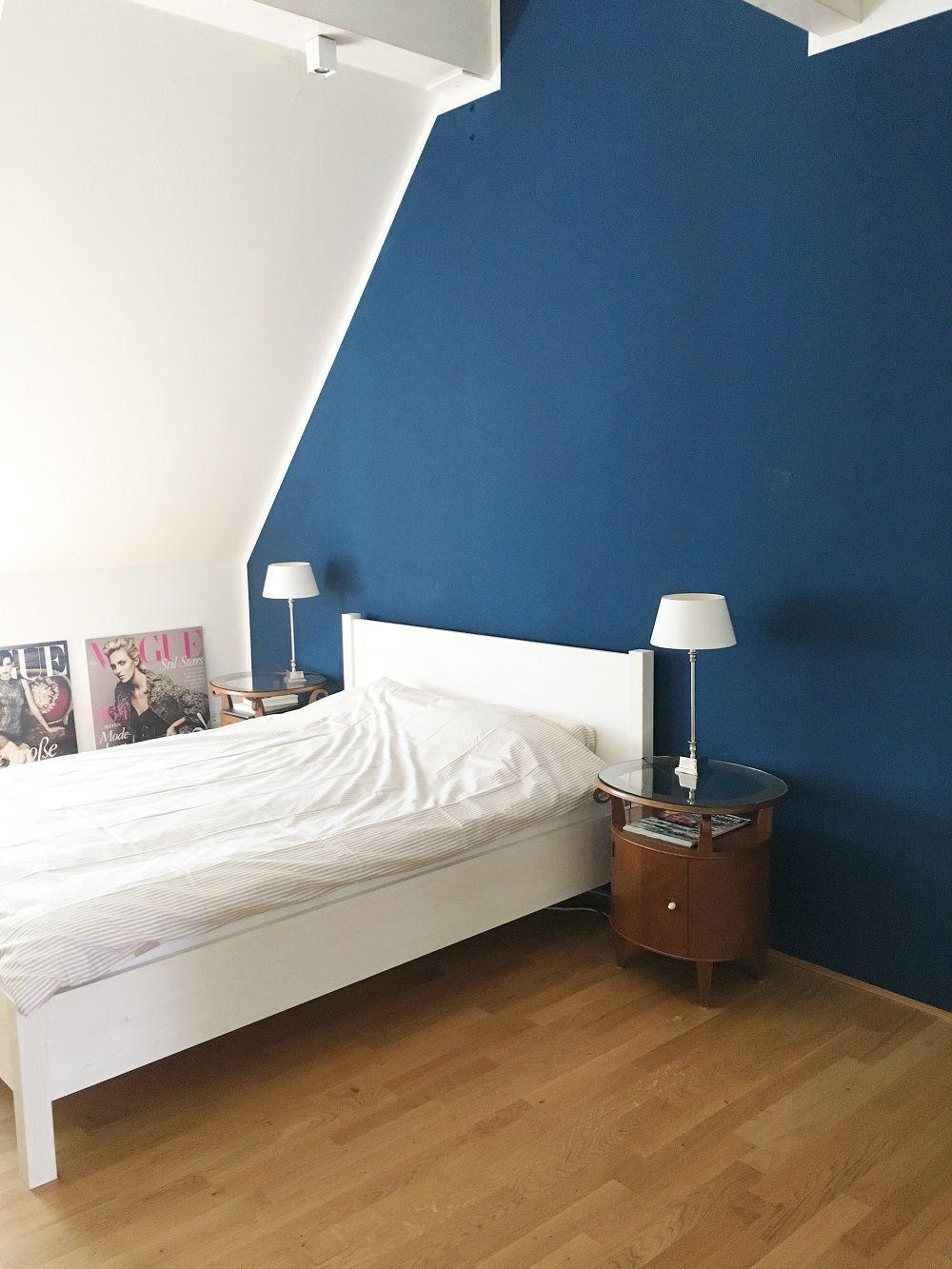 Blue Dreams! Auch im Schlafzimmer von Merchandiserin
