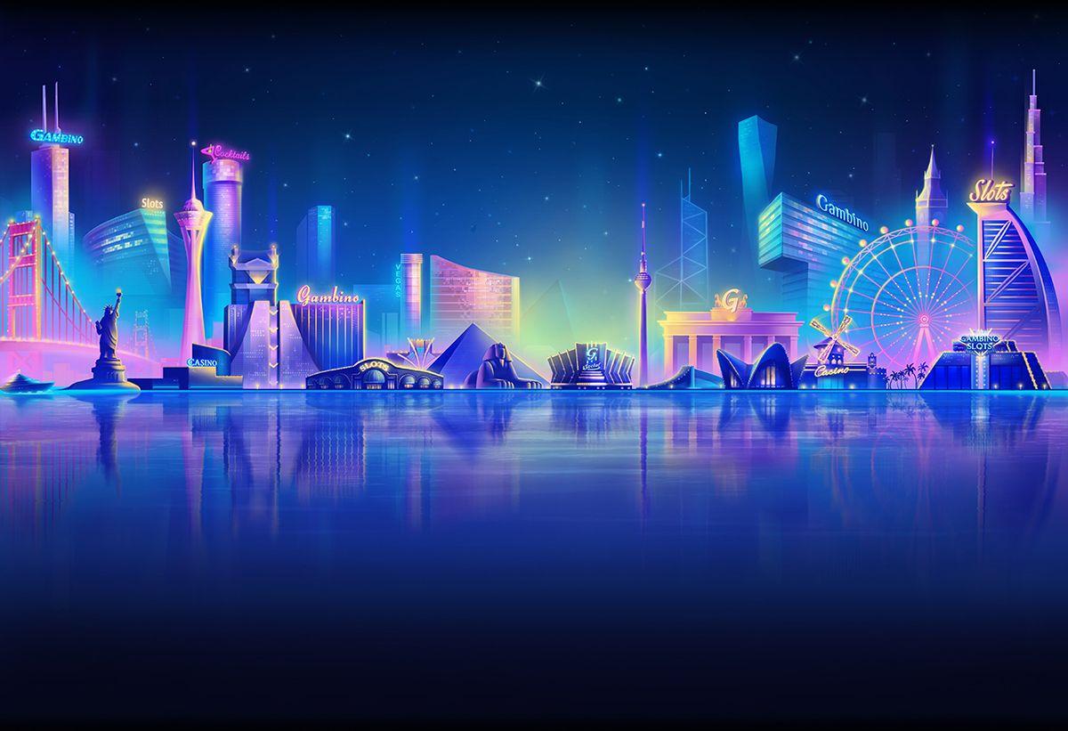 slot game background