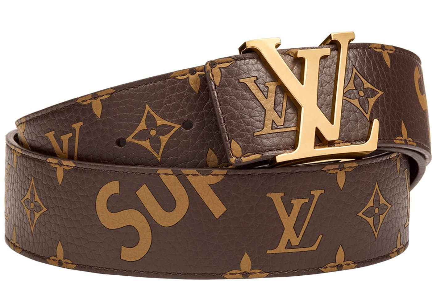 6893082b8719 louis vuitton handbags for women authentic. SUPREME LV Belt (brown)