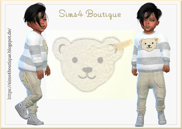 a71fce029 Designer Set for little Boys at Sims4 Boutique • Sims 4 Updates ...