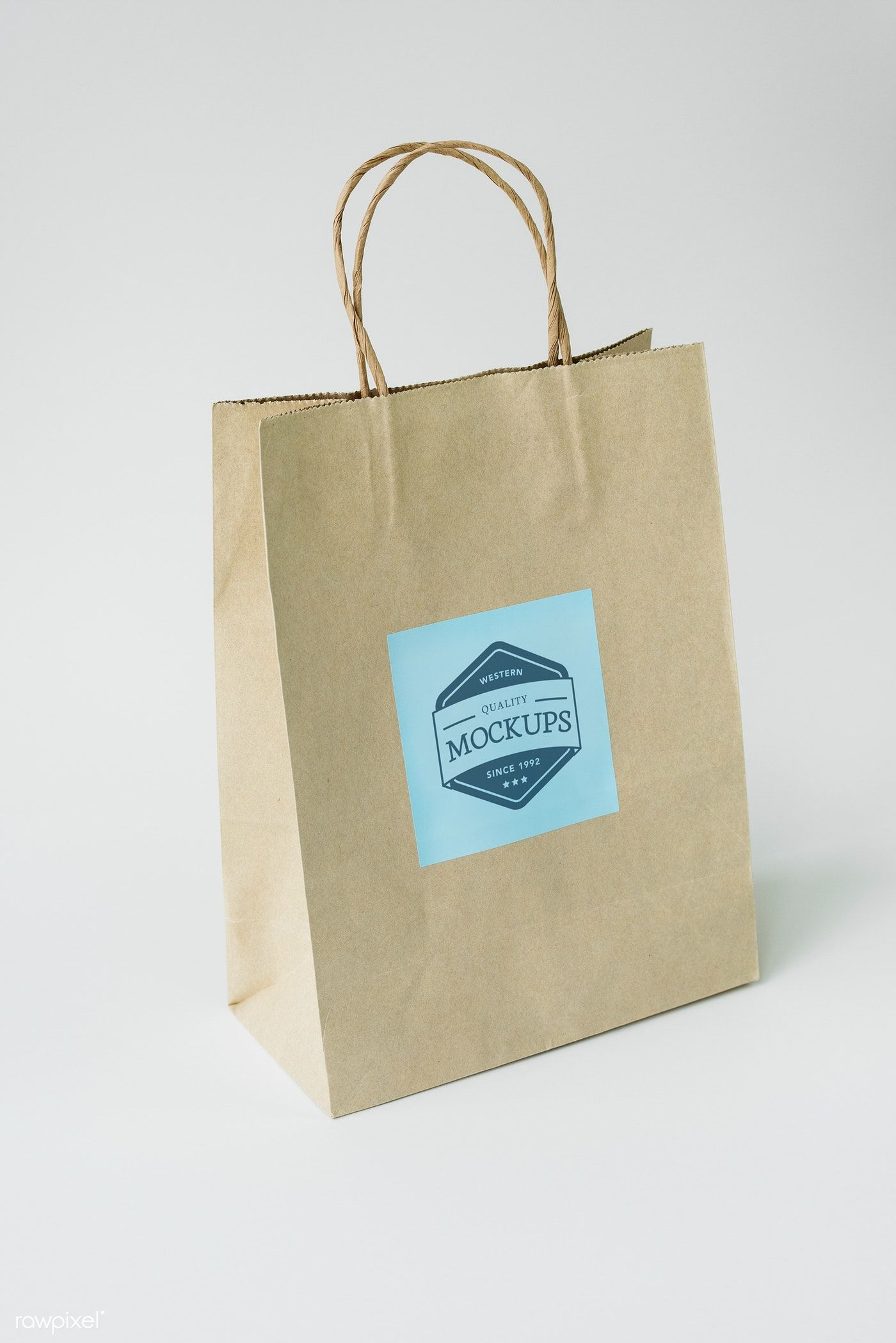 Download Download Premium Psd Of Paper Bag Mockup 296331 Bag Mockup Mockup Paper Bag