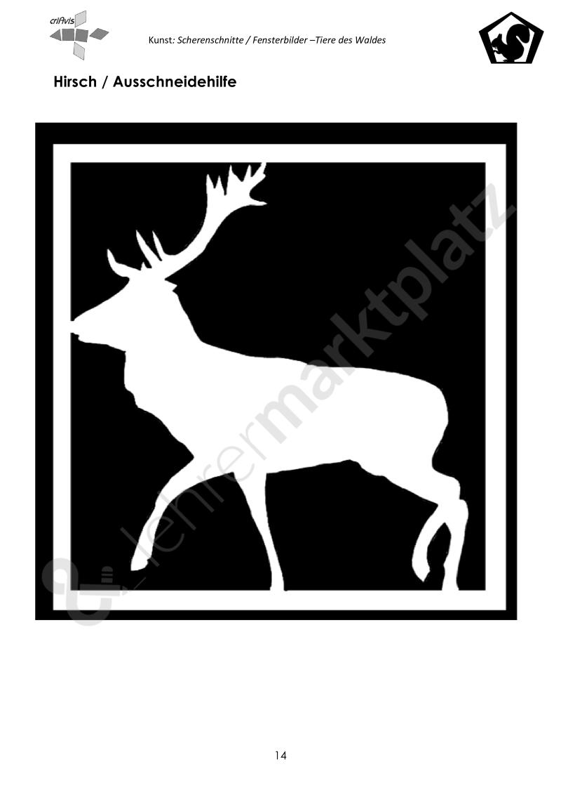 Woodland Animals Silhouette Animal Silhouette 2