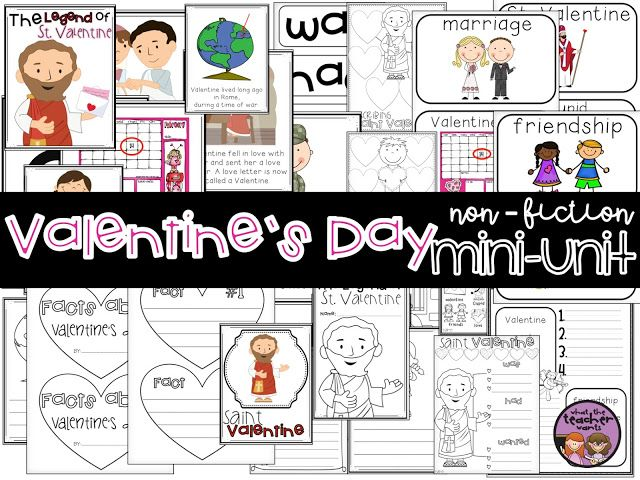 teacher your students about why we celebrate valentine's day! fun, Ideas