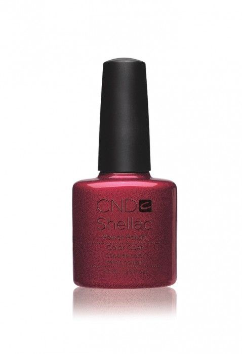 Shellac nail colours - Red Baroness