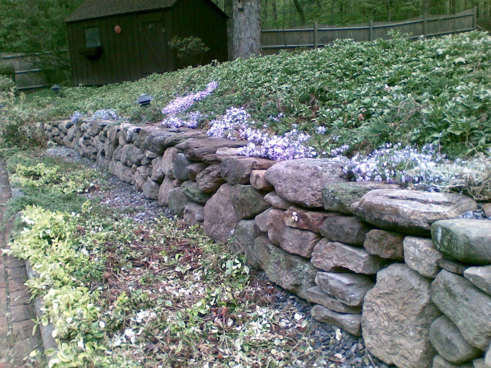 All Seasons Llc Retaining Walls Srw Or Natural Stone Garden