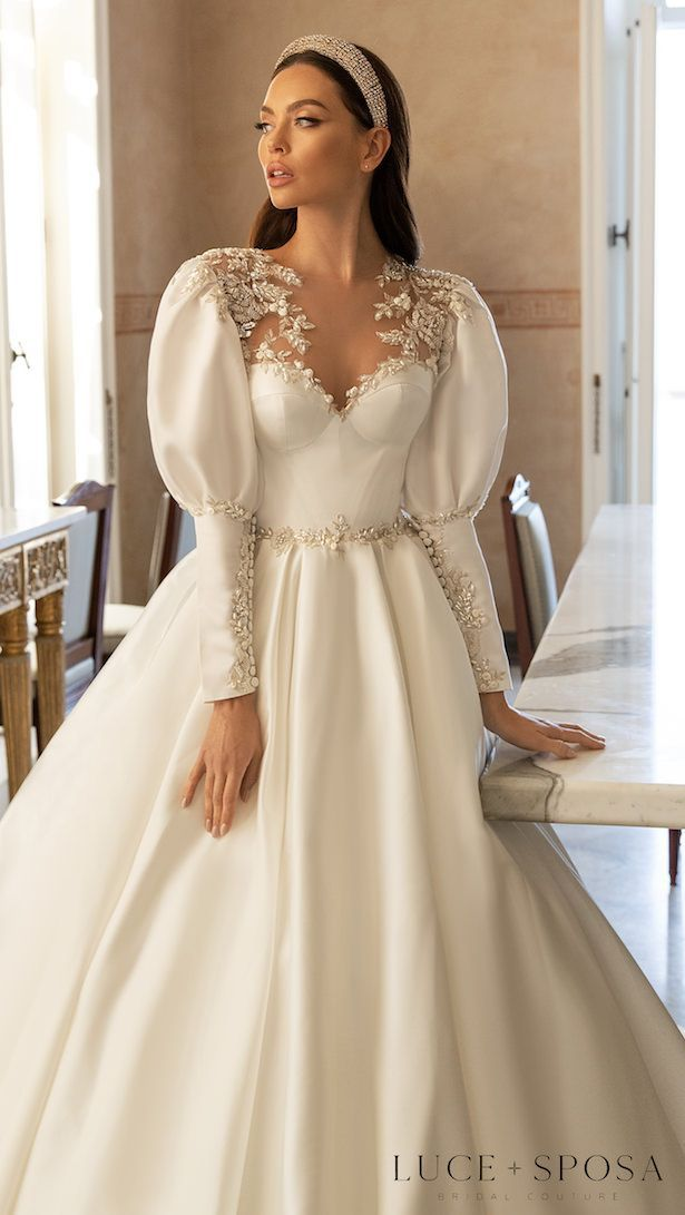 Luce Sposa 2021 Wedding Dresses | Sorrento, Italy Campaign