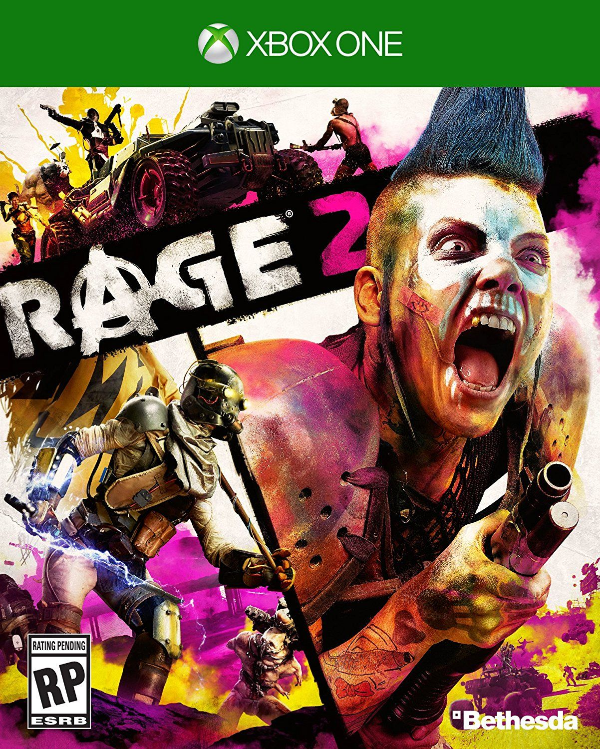 Rage 2 Standard Edition Xbox One Release Date 2019 Description An Asteroid Has Annihilated 80 Of The Earth S Population And Humanity S Numbers Are Dwi