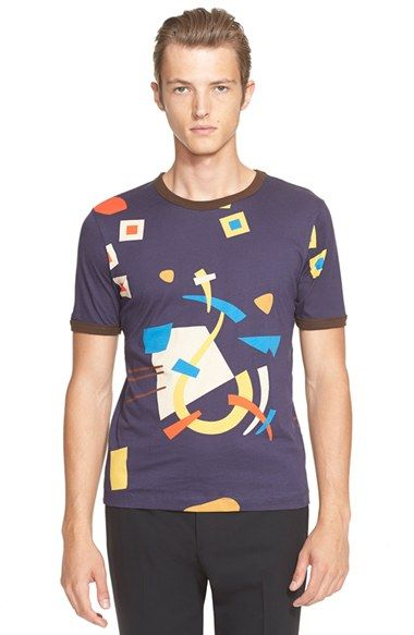 J.W.ANDERSON Abstract Print T-Shirt