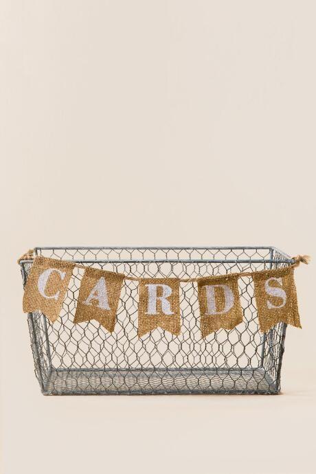 Wedding Cards Basket