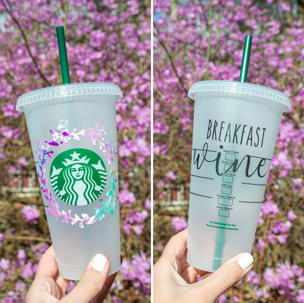 Louis Vuitton Svg Starbucks Cup