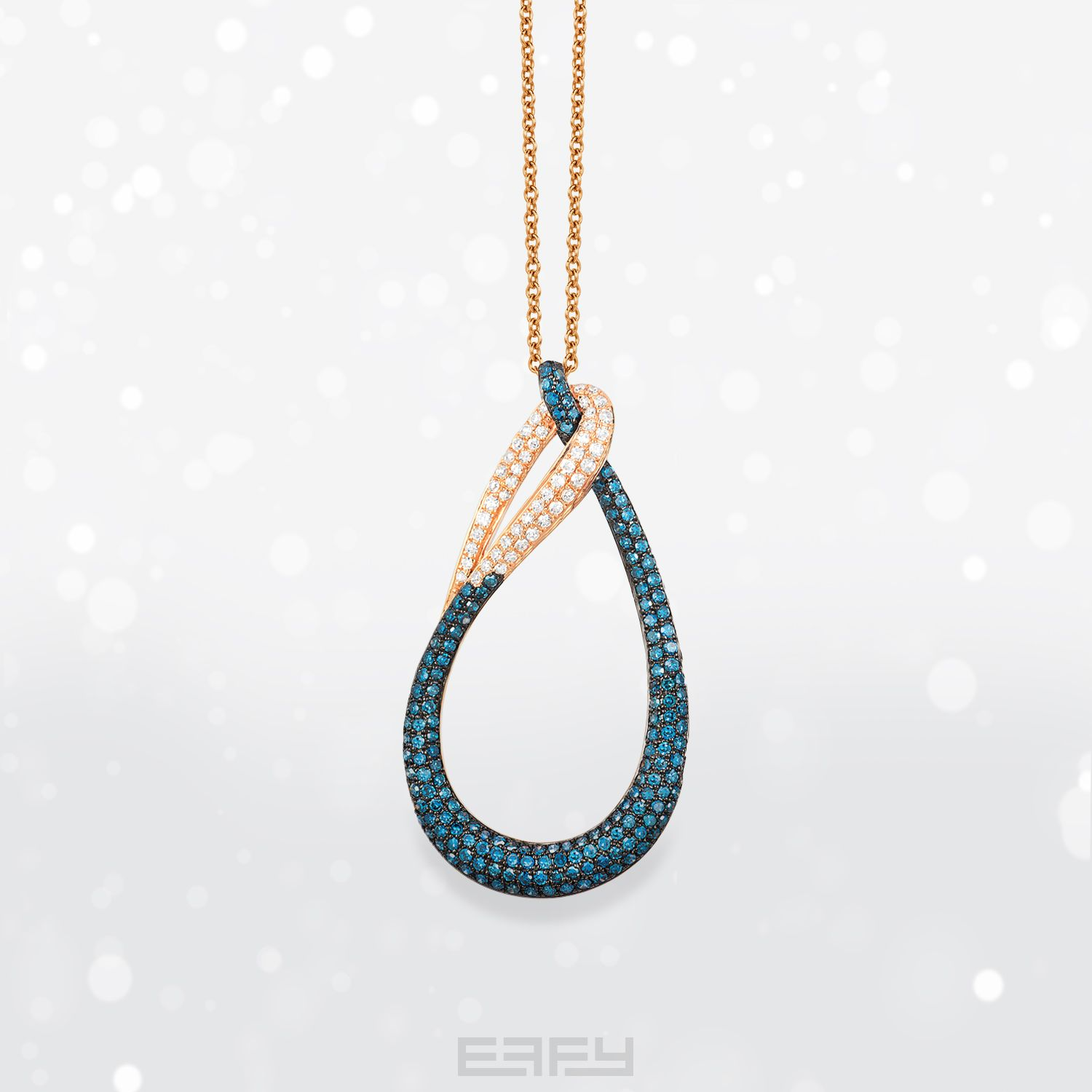 pin ct effy w by turquesa accent t in necklace diamond turquoise and pendant