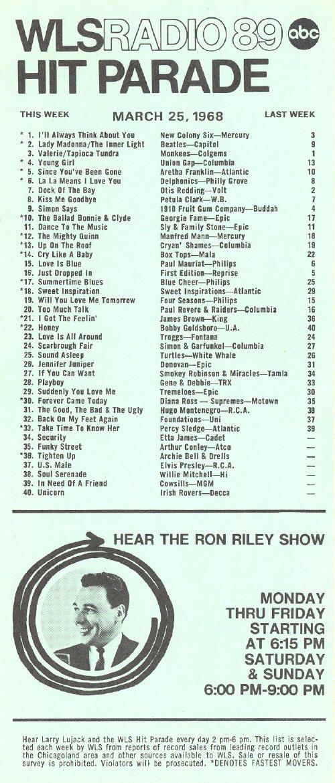 am 890 wls chicago music surveys chicago pinterest playlists
