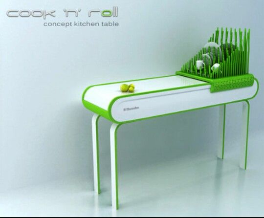 Kitchen table | the future of furniture | Pinterest