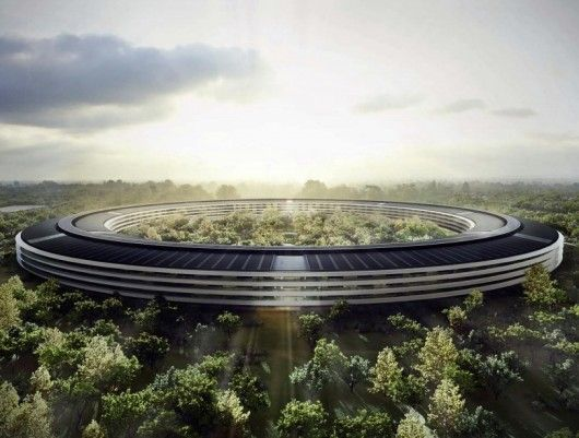 11.13.13 - New Images Released of Apple's Recently Approved Cupertino Campus