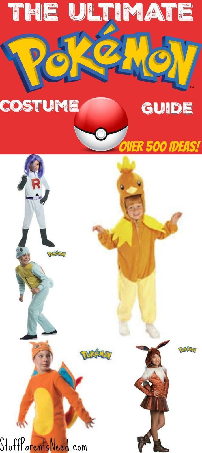 The Ultimate List of Pokemon Halloween Costumes | Pokemon ...