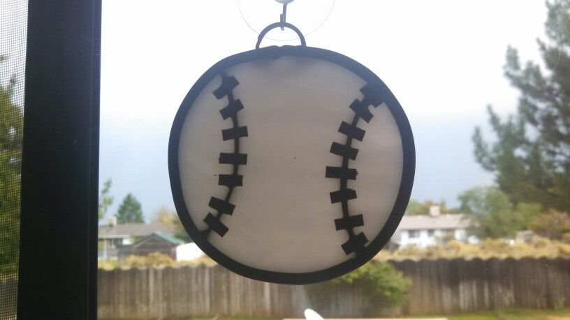 Stained Glass baseball
