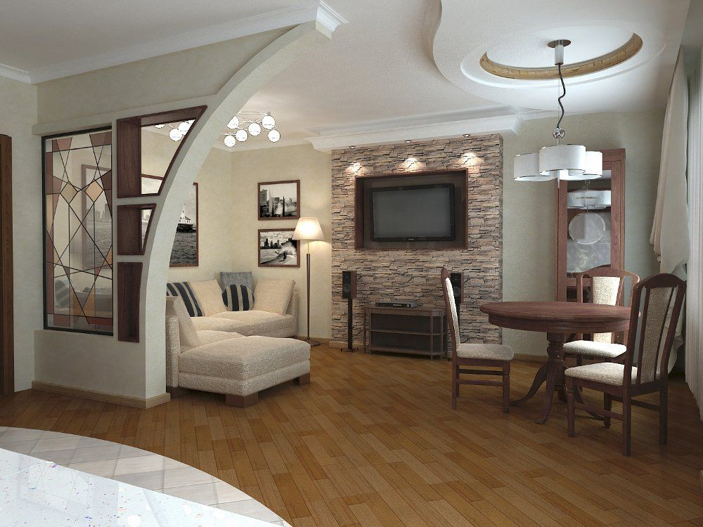 Дизайн интерьера гостиной в квартире фото Дизайн в
