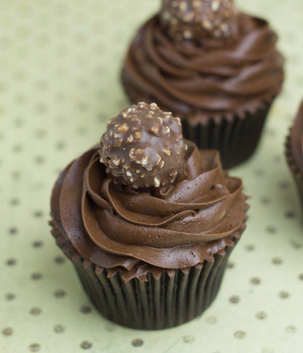Objetivo: Cupcake Perfecto.: Cupcakes de Ferrero Rocher