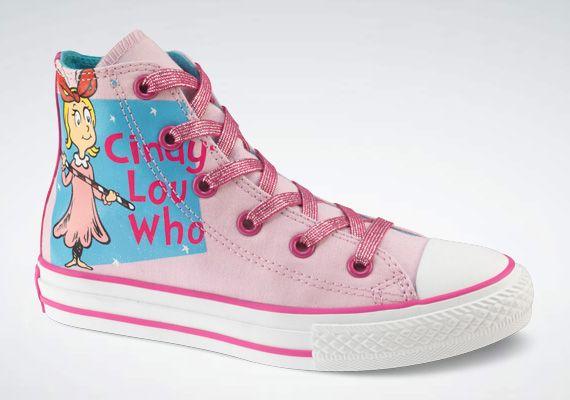 Converse Chuck Taylor Dr. Seuss Grinch Santa & Cindy Lou Hi