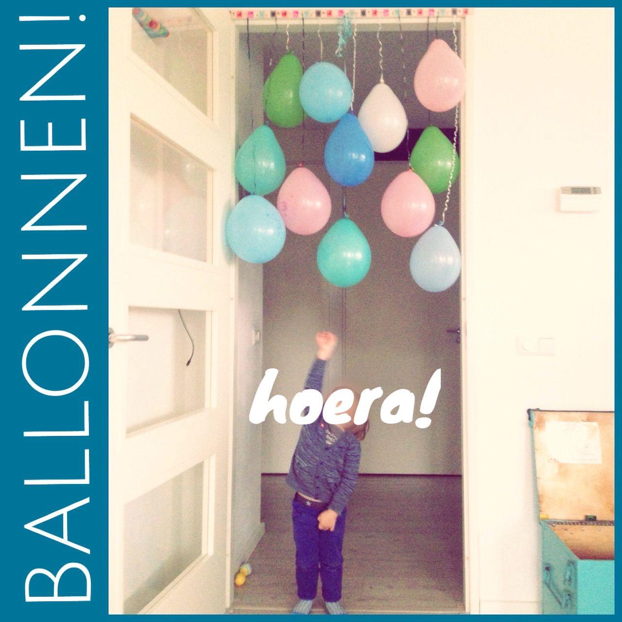 Verjaardagsballonnen! Birthday balloons! Als je als kind jarig bent wil je heel veel ballonnen en dan liefst ook een beetje spectaculair. #leukmetkids