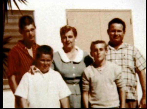 Beach boys Brian, Carl and Dennis Wilson, and parents Audree and ...
