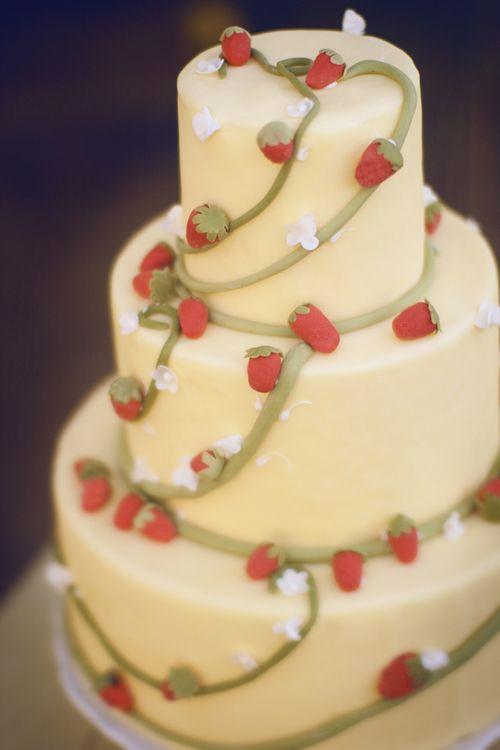 Strawberry-Wedding-Cake | Pinterest | Strawberry wedding cakes ...