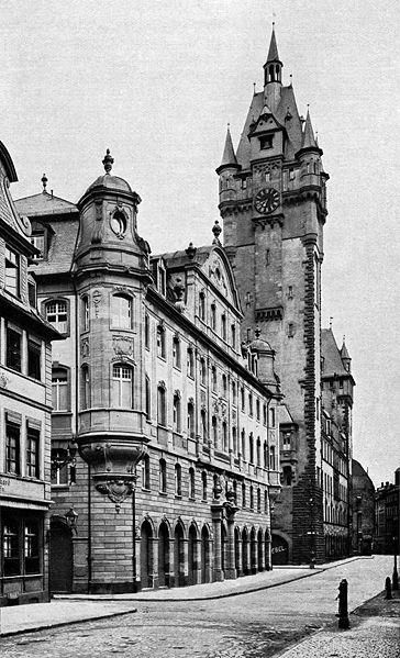old Postcard of Frankfurt before World War II nice Old