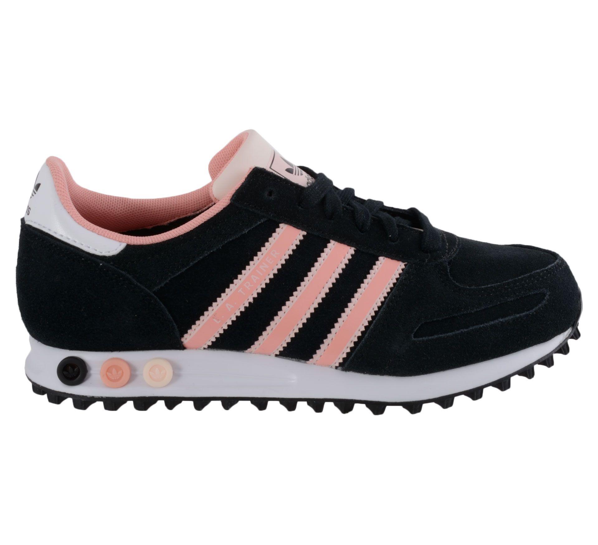 Adidas Sneakers Dames Zwart Met Roze