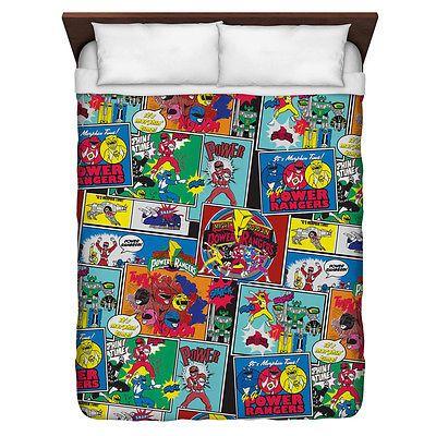 Power Rangers Pattern Duvet Cover Twin Queen King Bedroom Bed Duvet Cover Pattern Duvet Covers Twin Duvet Covers