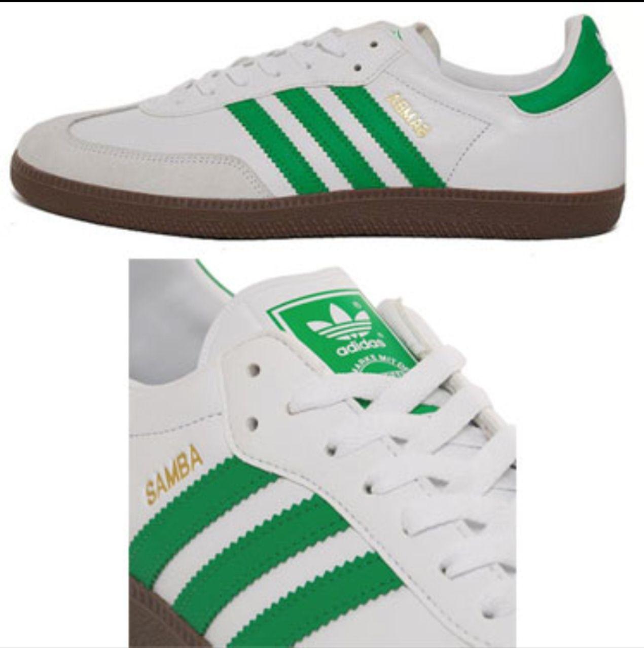 green adidas samba trainers Sale,up to