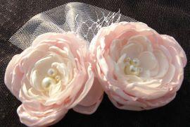 Vintage Inspired Blush Pink Bridal Fascinator www.etsy.com/listing/122283829/stunning-vintage-inspired-headband-light?ref=shop_home_active