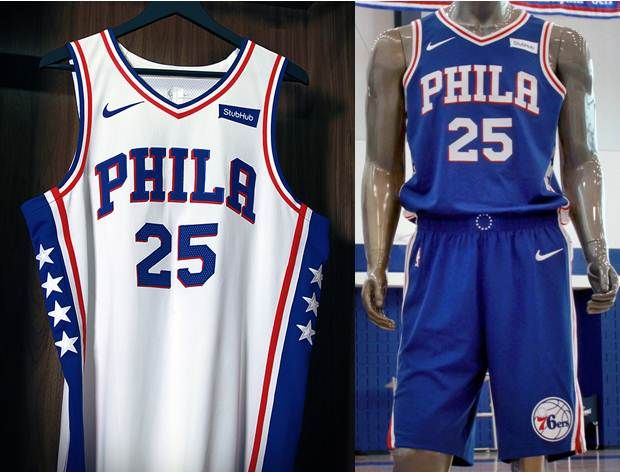 new products 61ec0 ecc68 Sixers unveil jerseys, 'Brotherly Love' slogan | Trust The ...