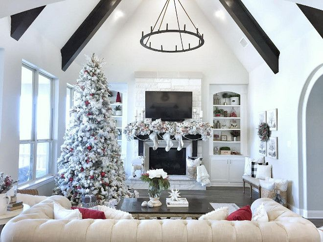 Most Popular Christmas Decorations On Pinterest Christmas Stairs