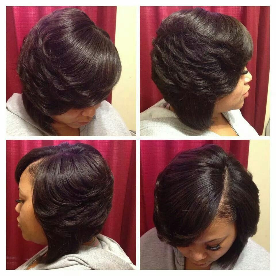 Quickweave Bob With Images Weave Bob Hairstyles Beautiful Black Hair Hairstyle Books
