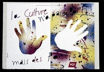 Affiche Pcf Par Grapus Cultura Tema
