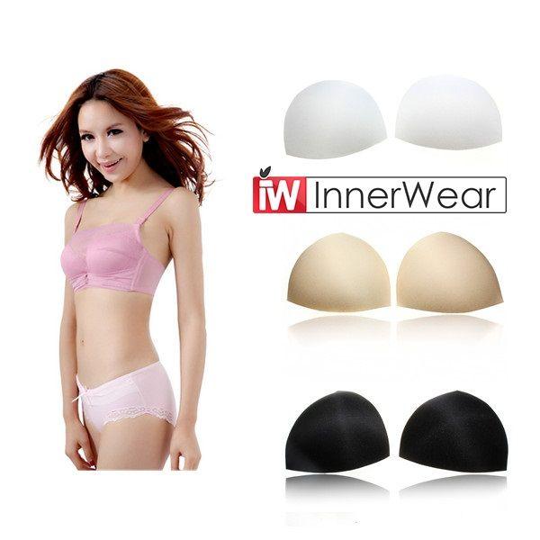 Breast enhancers bra inserts