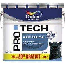 Peinture Murs Et Plafonds Protech Dulux Valentine 10 L 20
